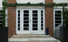Wooden french doors, French windows, Cheshire, Lanchashire