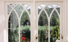Decorative french windows, Gothic french doors, Manchester, Cheshire
