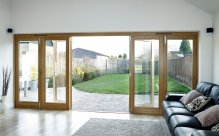 hardwood replacement windows and doors, Timber bifolding doors, Manchester, Cheshire